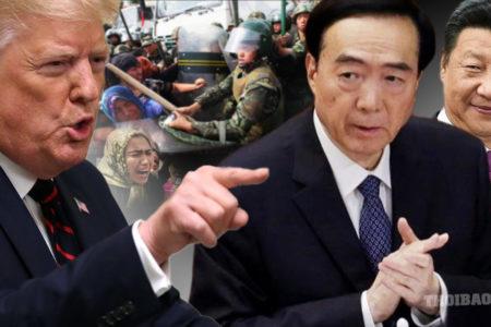 """Ủy viên Bộ Chính Trị Trung Quốc bị Tổng thống Trump cho """"vào lò"""""""