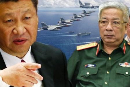Điều máy bay ném bon ra Trường Sa – Trung Quốc đe dọa san phẳng đảo Việt Nam?