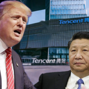 """Đánh """"gãy lưng"""" Tập – Trump ra lệnh cấm Tencent"""