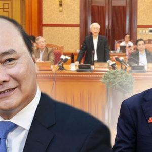 Chủ tịch Chung giáng chức – Thủ tướng Phúc hả hê