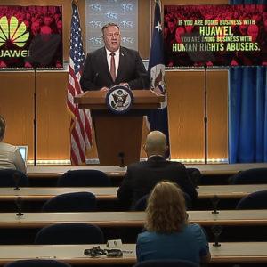 Mỹ: Chặn Trung Quốc – Cấm mua hàng Huawei