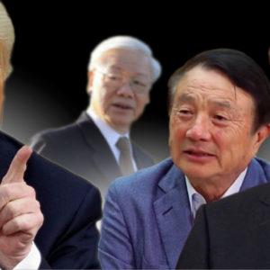 "Siết Huawei – Trump ""thắt"" dần cổ Tập"