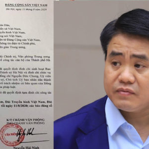 "Why ""they"" decide to ""kill"" Hanoi Chairman Nguyen Duc Chung?"