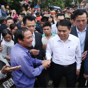 Netizens talking about the arrest of Hanoi Chairman Nguyen Duc Chung