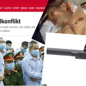 Vụ Đồng Tâm: Báo Đức đặt câu hỏi về khẩu súng bắn chết cụ Lê Đình Kình
