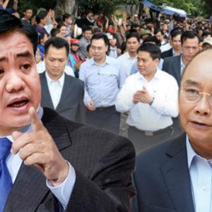"""Nguyễn Đức Chung – """"cái gai"""" của Nguyễn Xuân Phúc, Nguyễn Phú Phú Trọng trong vụ Đồng Tâm"""