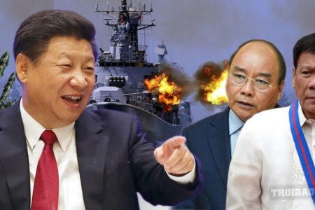 Trung Quốc lại 'thổi lửa' ở Biển Đông