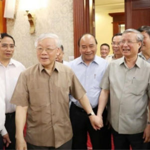 Many Vietnamese wish the Communist Party to promote democracy, even give up political monopoly