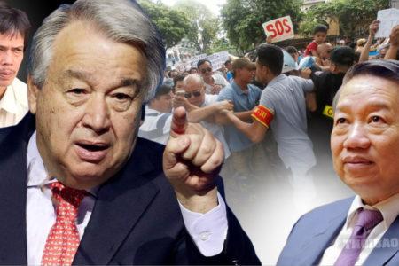 """Bắt người tùy tiện – Đảng Cộng Sản Việt Nam bị Liên Hiệp Quốc """"hỏi tội"""""""