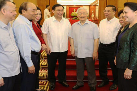 General Secretary Nguyen Phu Trong is out of date?