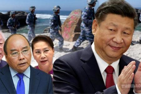 """Nuốt trọn Biển Đông – Tập vẫn """"hứa"""" hòa bình"""