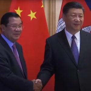Campuchia bỏ dự án của Mỹ để theo Trung Quốc?