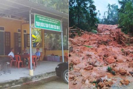 Lở đất kinh hoàng: 13 người mất tích cùng Thiếu tướng Phó tư lệnh
