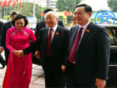 Finished cleaning Nguyen Duc Chung – Hanoi Party Congress met majestic meeting