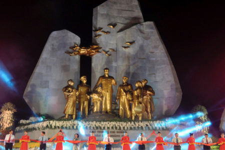 Building Ho Chi Minh's cultural space in a new way of indoctrination by city leaders?
