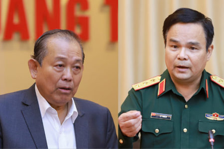 Corruption of hardtack sent for flood-affected residents and PM's request for supervising VND100 billion donations collected by singer Thuy Tien