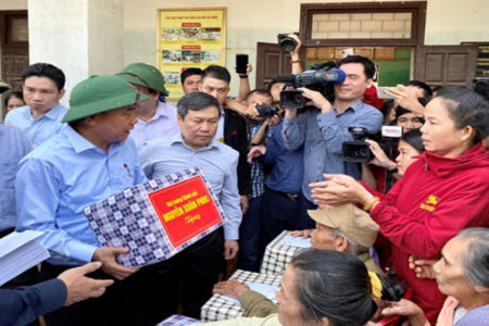 "Vietnam Fatherland Front advises Thuy Tien to hand over VND150 billion to it ""to prevent public opinion from doubting"""