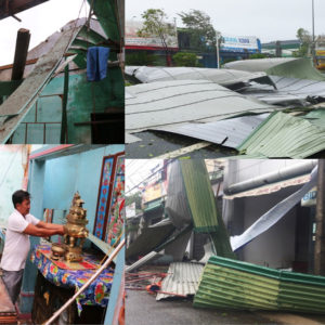 Roofs fly, houses collapse, trees fall: 29 people died and missing due to typhoon Molave