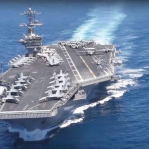 Tàu chiến Mỹ tràn đến Thái Bình Dương vây Trung Quốc ở Biển Đông