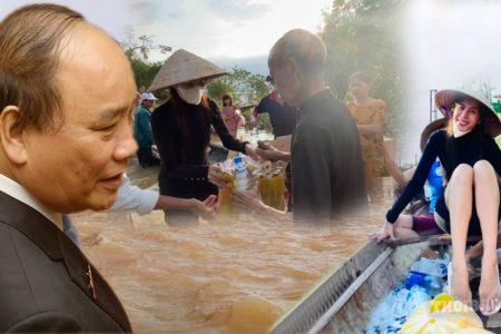 Thủy Tiên nhận tiền 150 tỷ – Thủ tướng nhìn theo bắt chước làm
