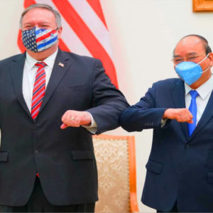 What is the real purpose of US Secretary of State Mike Pompeo's visit to Vietnam?