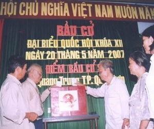 Many Vietnamese people are interested in US voting but indifferent about local elections!