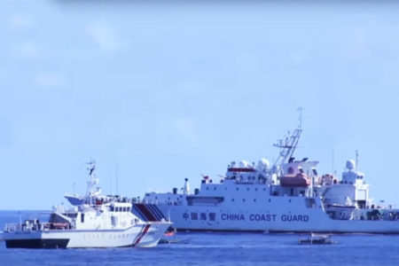 China revises its Coast Guard law which raises concerns about military conflicts in the South China Sea