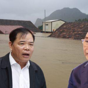 Bộ trưởng NN&PTNT đổ lỗi cho Mỹ gây lũ lụt ở Việt Nam