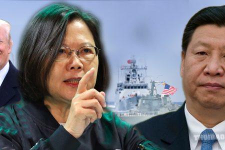 """Đài Loan tự đóng tàu ngầm """"quyết chiến"""" với Trung Quốc"""