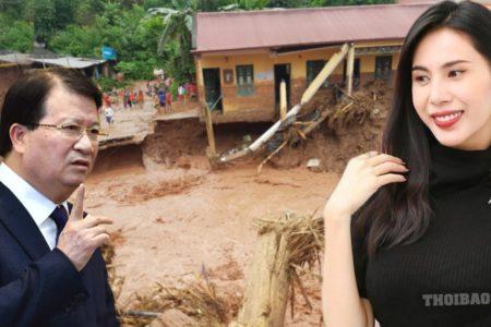 Phó thủ tướng Trịnh Đình Dũng đổ lỗi tại trời khiến dân phẫn nộ