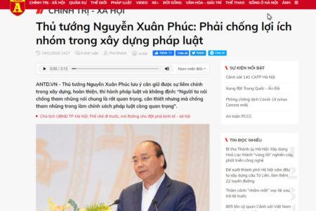 Có phải Nguyễn Xuân Phúc muốn triệt hạ nhóm Lê Thanh Hải?
