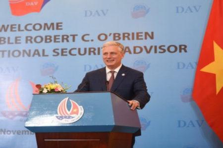 Mỹ cảnh tỉnh Việt Nam về mối đe dọa tứ phía từ Trung Quốc
