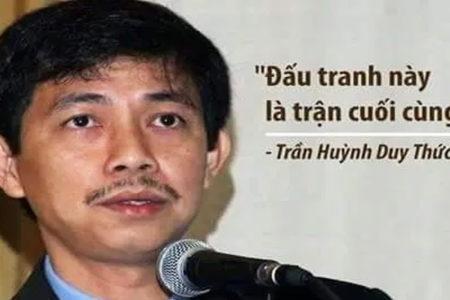 Tuyên bố của Mạng lưới Nhân quyền Việt Nam và Người Bảo vệ Nhân quyền về tù nhân lương tâm Trần Huỳnh Duy Thức