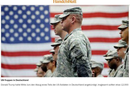 Quốc hội Hoa Kỳ muốn ngăn chặn kế hoạch của Trump rút quân khỏi Đức