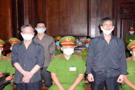 Quốc tế phản đối việc kết án 3 nhà báo độc lập tại Việt Nam