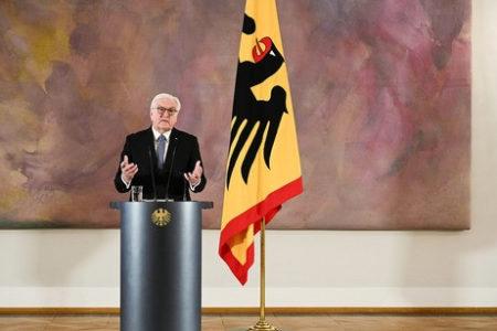 Phát biểu của tổng thống Đức- Steinmeier về việc chiếm tòa nhà quốc hội Mỹ vào ngày 06.01.2021