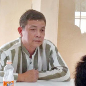 Prisoner of conscience Tran Huynh Duy Thuc on 47th day of hunger strike