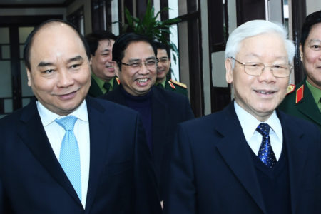 Commenting around plan Mr. Nguyen Phu Trong continues its party general secretary post