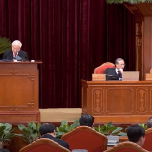 Mr. Nguyen Phu Trong, Four Pillars, and party's personnel issues at 15th Plenum