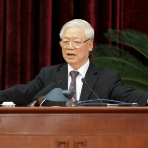 """Does Communist Party Chief Nguyen Phu Trong commit """"not denouncing crime"""" when briber leaves?"""