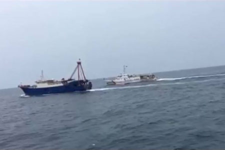 How does Vietnam respond as China's Coast Guard empowered to shoot foreign vessels?