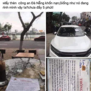 One more Facebooker fined VND12.5 million for insulting police