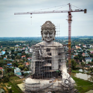 Vietnam: Demolishing mountains and forest to build Buddhist temples