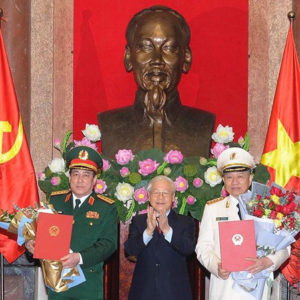 """Why Nguyen Phu Trong wants to eliminate General Luong Cuong by """"punching and rubbing""""?"""