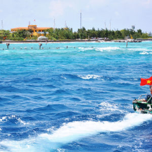 Vietnam continues to expand its islands, building military structures in Spratlys