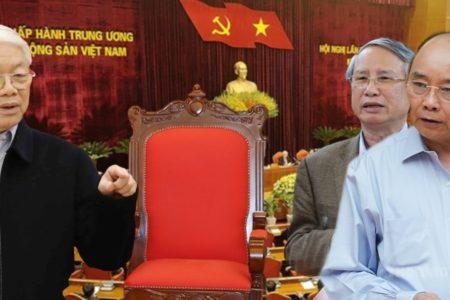 """Nguyễn Phú Trọng sẽ """"nhường ngôi"""" cho Vương Đình Huệ?"""