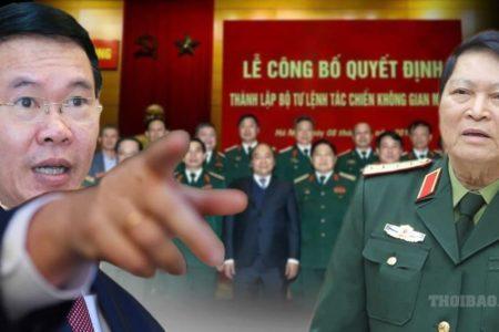 Việt Nam: Tướng quân đội tràn sang ngành tuyên giáo