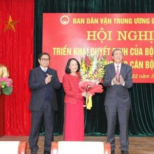Nhờ Phạm Minh Chính, Trương Thị Mai bẻ lái ngoạn mục sang Trưởng ban tổ chức Trung ương