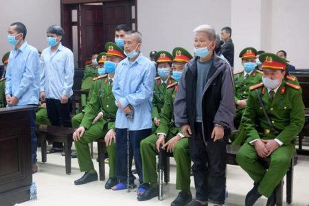 Phúc thẩm Đồng Tâm: Y án tử hình, chung thân và nhiều năm tù cho 6 bị cáo
