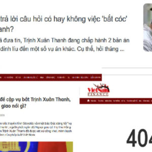 Vietnamese Police General To An Xo says honoring Trinh Xuan Thanh's kidnapper normal act